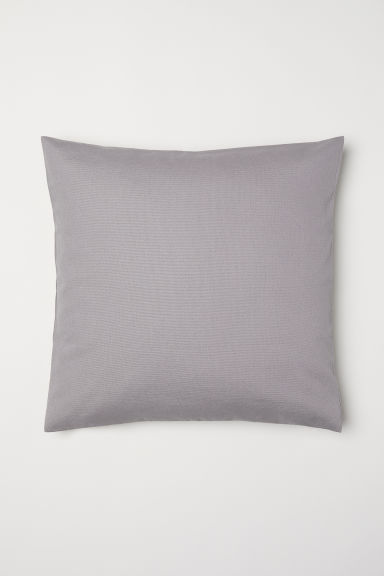 Canvas Cushion Cover - Light taupe - Home All | H&M CA