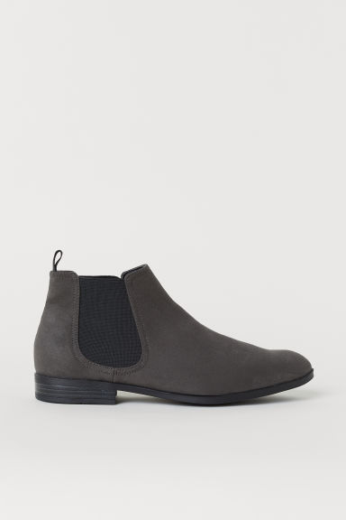 Chelsea boots - Dark grey - Men | H&M CN