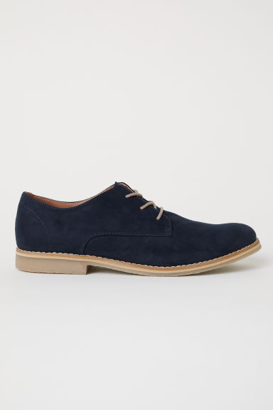 Derby shoes - Dark blue - Men | H&M CN
