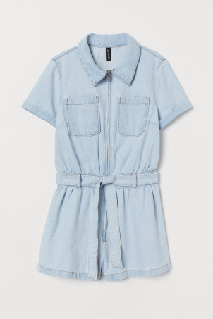 Denim playsuitModel