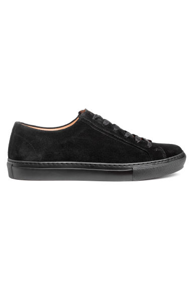 Suede trainers - Black -  | H&M