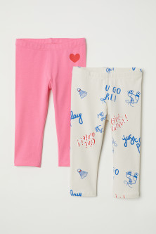 2-pack 3/4-length leggings