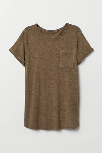H&M - T-shirt long - 5