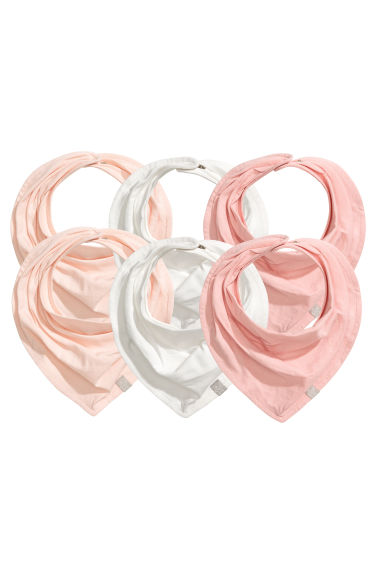 Lot de 6 foulards - Rose poudré -  | H&M FR