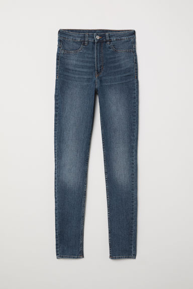 Super Skinny High Jeans - Denim blue -  | H&M CN