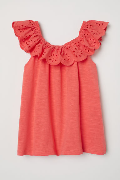Bohemian blouse - Orange - Kids | H&M