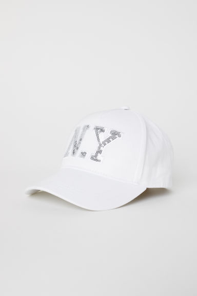 Cap - White - Kids | H&M