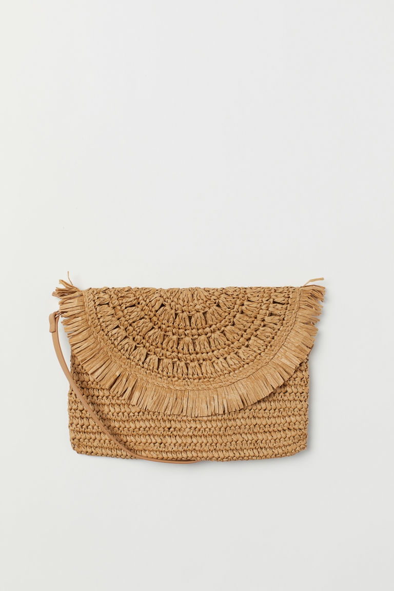 Strohhandtasche - Beige - Ladies | H&M AT