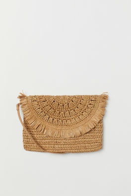 9577a9f7b1 Straw Shoulder Bag