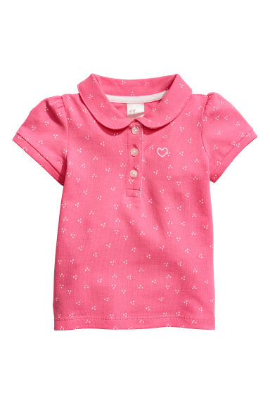 Polo - Roze/stippen -  | H&M BE