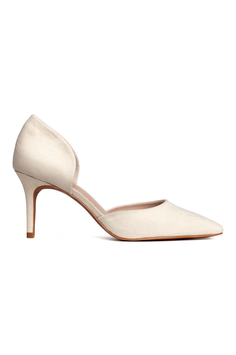 Court shoes - Powder beige - Ladies | H&M