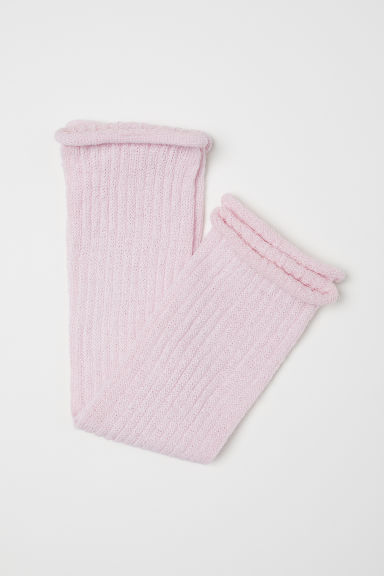 Leg warmers - Light pink - Kids | H&M