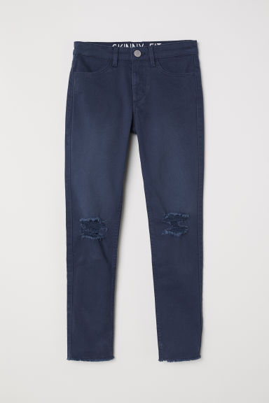 Superstretch trousers - Dark blue - Kids | H&M