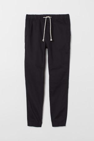 d7b6bfba313 Skinny Fit Suit Pants.  19.99. Black · Twill Joggers
