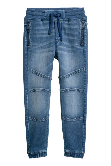 Denim joggers - Denim blue -  | H&M