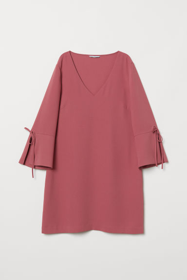 Short dress - Dark pink - Ladies | H&M CN