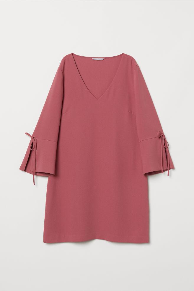 Rövid ruha - Sötét rózsaszín - NŐI  44a655c3cd