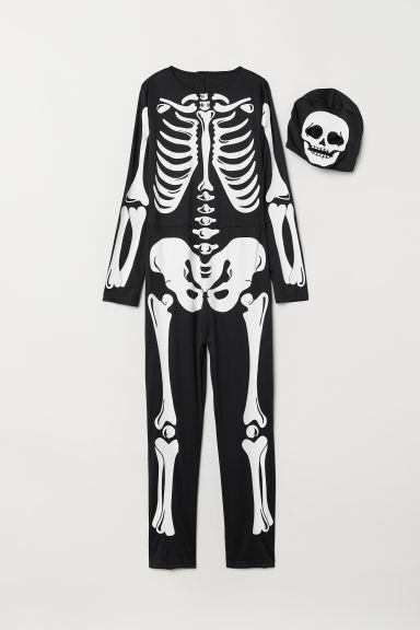 Fancy dress costume - Black/Skeleton - Kids | H&M