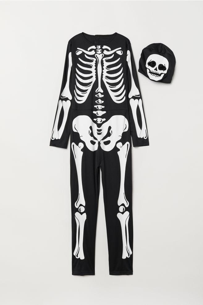 2fdfccd55c7b Fancy dress costume - Black/Skeleton - Kids | H&M ...