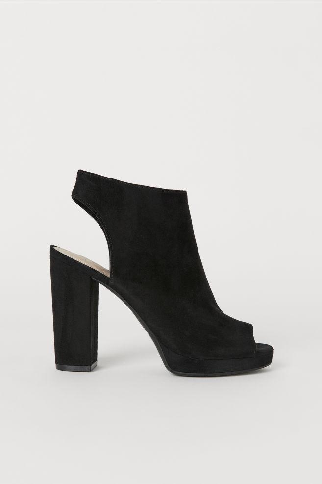 e8f22f9f3ca Platform Sandals - Black - Ladies