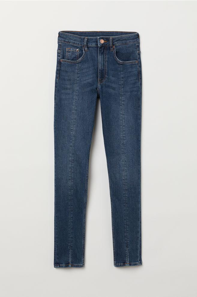 cd42bb027 Skinny High Ankle Jeans - Denim blue - | H&M ...