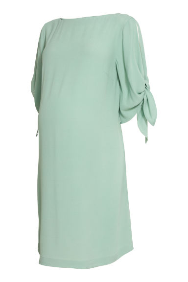 Viscose dress - Light khaki green - Ladies | H&M IE