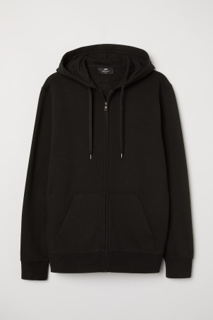 Regular Fit Hooded JacketModel