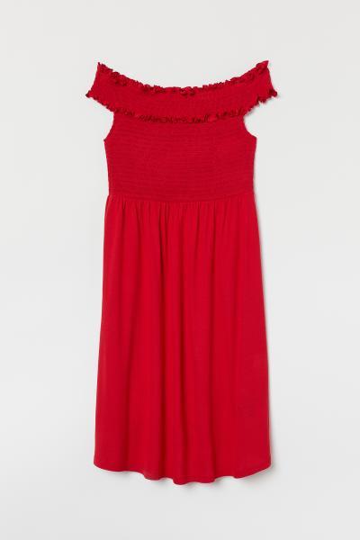 H&M - MAMA Off-the-shoulder dress - 4