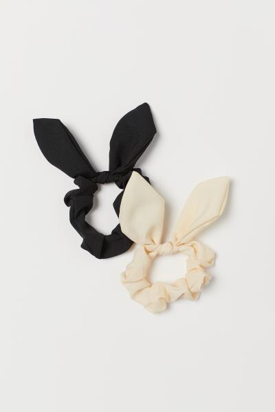 H&M - Pack de 2 scrunchies - 1