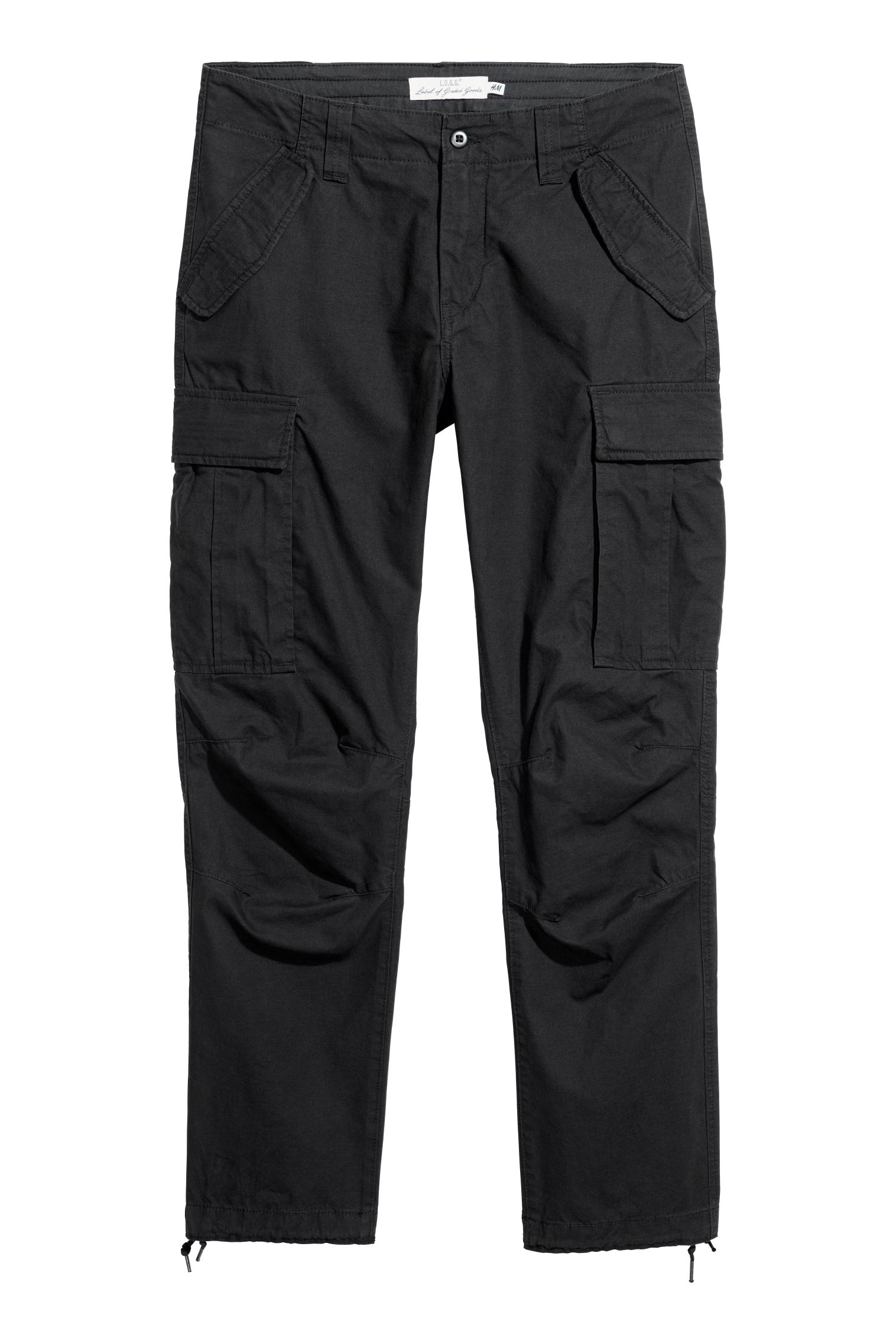 Cargo trousers - Black - Men  ceb2376181f
