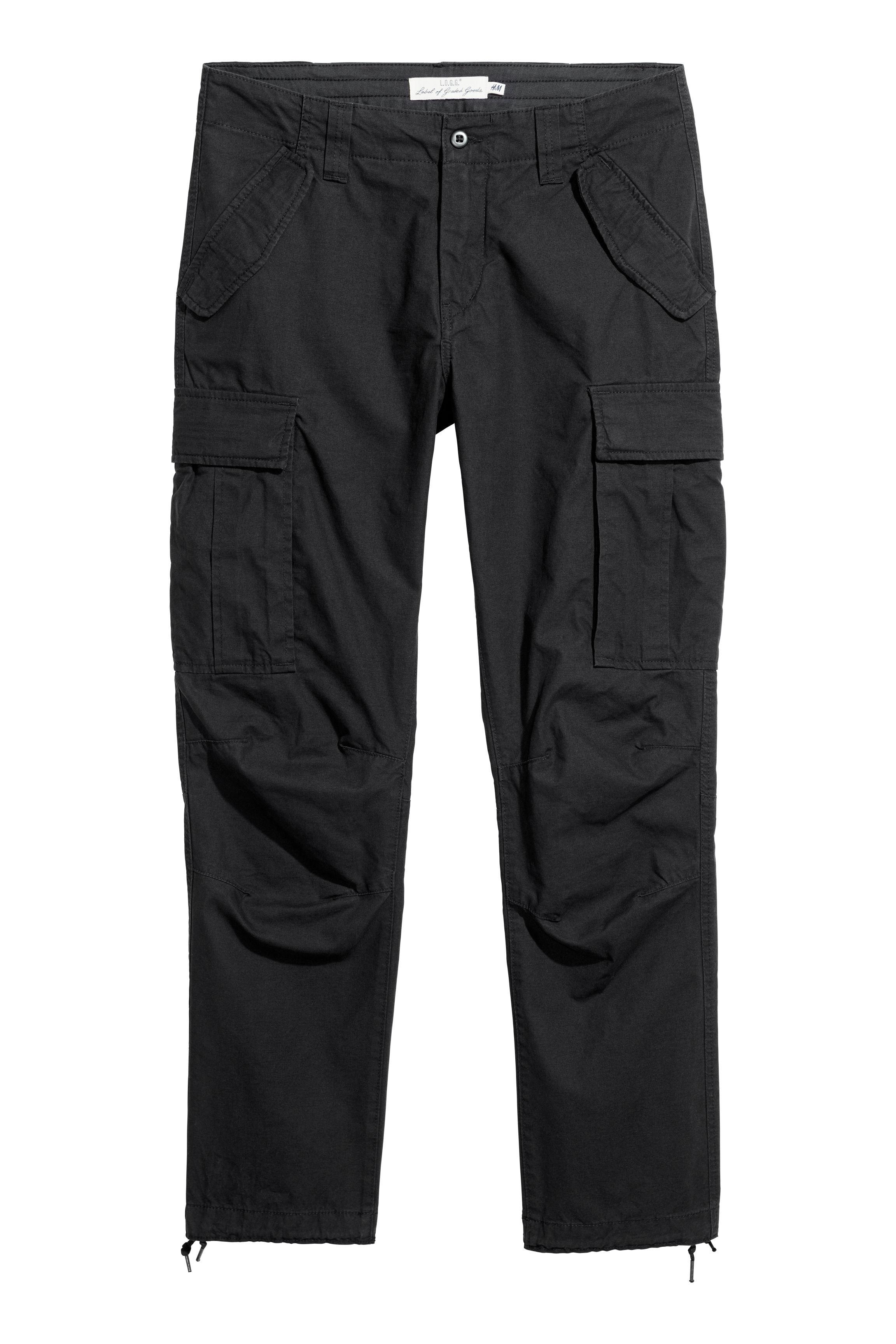 Cargo Pants - Black - Men  8940366b38f