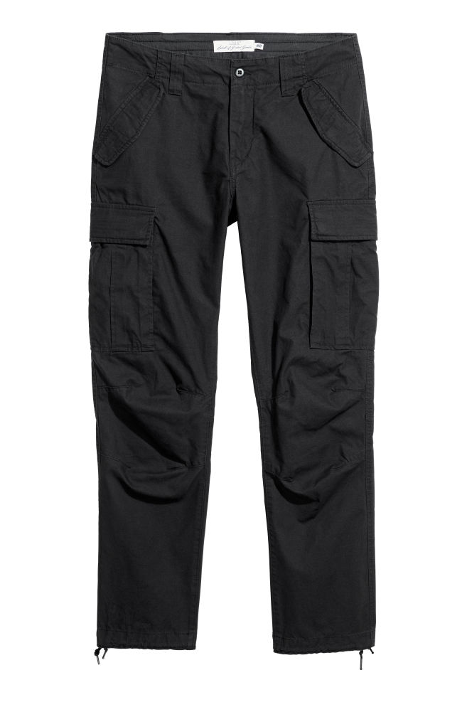 ... Cargo trousers - Black - Men  cf8cb38b0