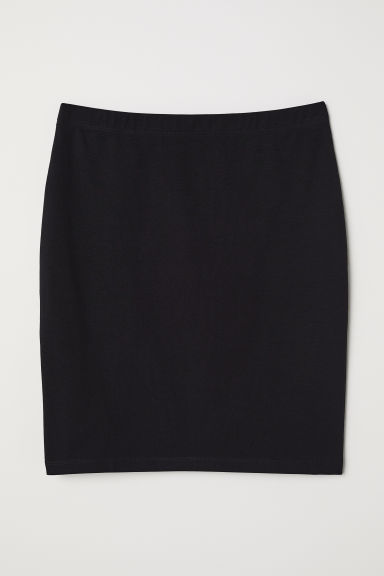 Short Jersey Skirt - Black - Ladies | H&M US