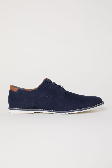 Derby shoes - Dark blue -  | H&M