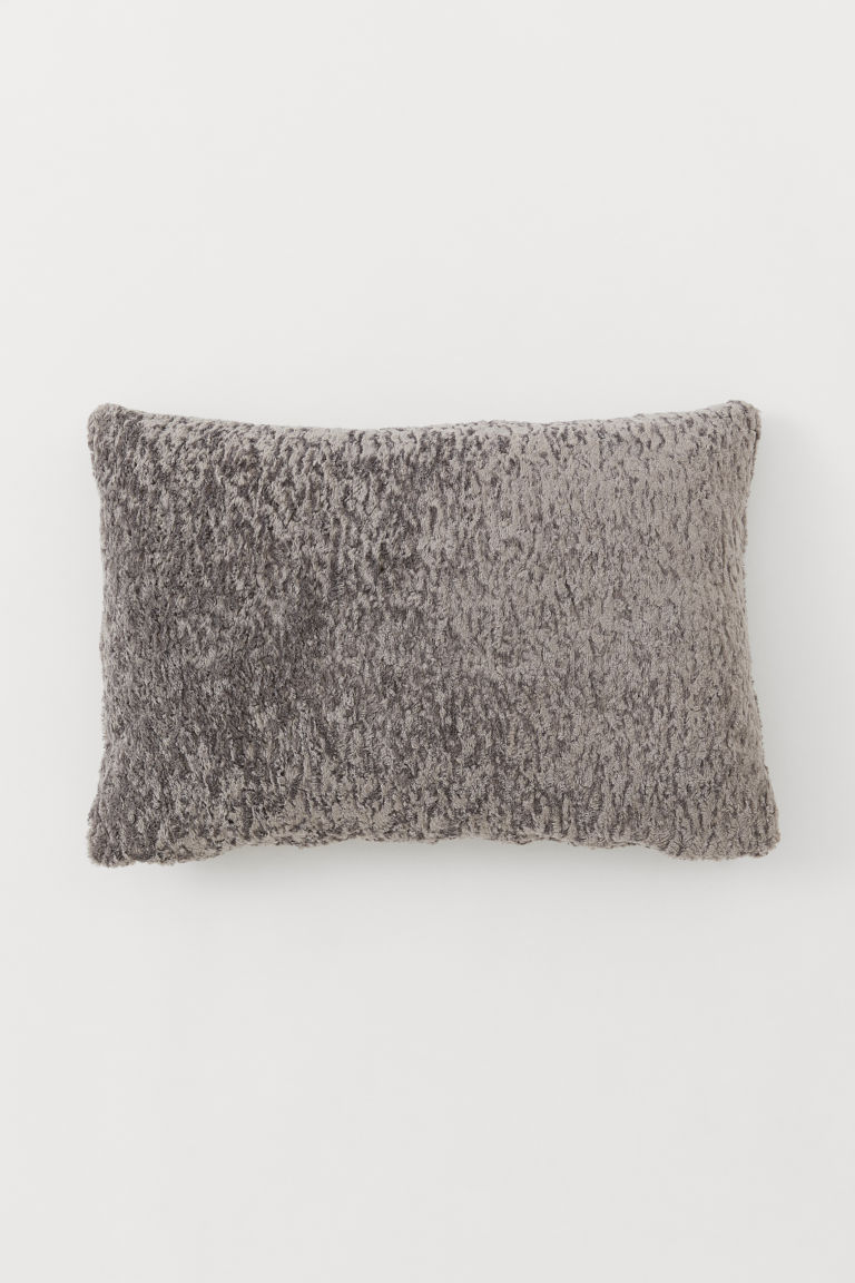 Pile Cushion Cover - Gray - Home All | H&M US
