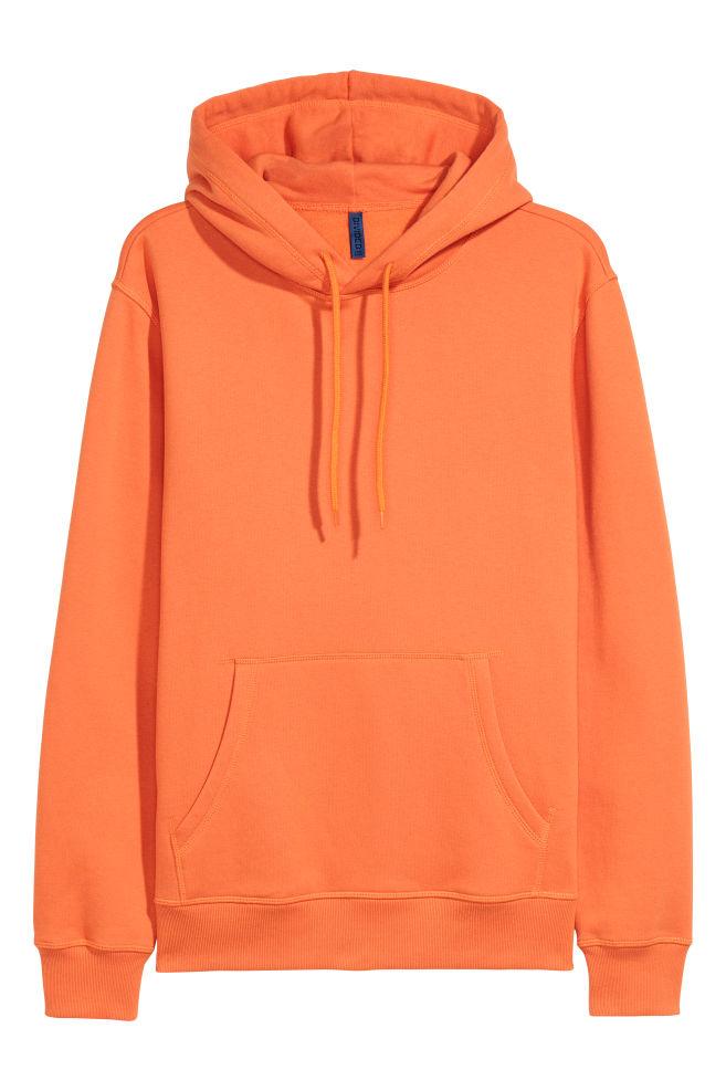 2628d1d9 Hettegenser - Oransje - HERRE   H&M ...