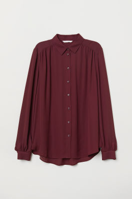 8e655994acc Long-sleeved Blouse