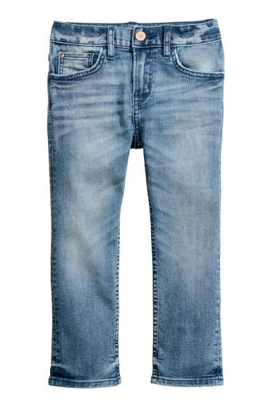 Slim Fit Jeans - Light denim blue -  | H&M CN
