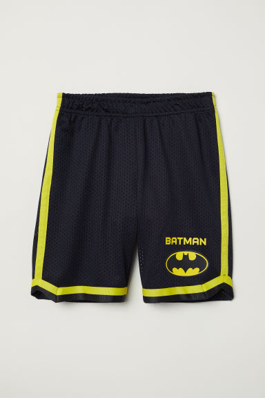 Basketball shorts - Black/Batman - Kids | H&M CN