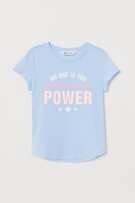 749ad7f4 Tops For Girls 8-14 Years | T-Shirts & Tanks | H&M US