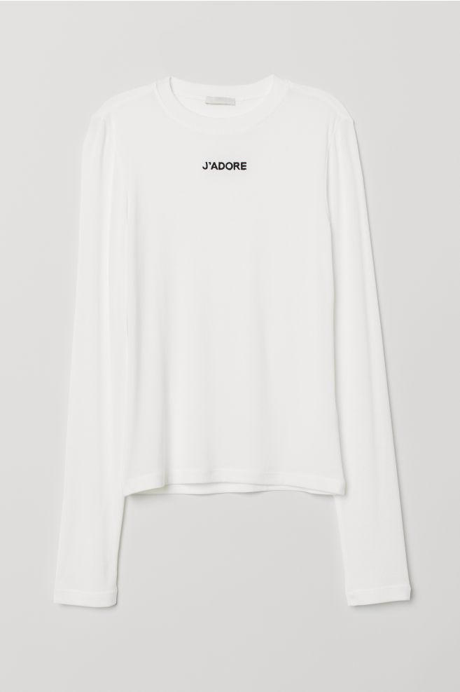 5ed4ffe8467b ... Modal jersey top - White J Adore - Ladies