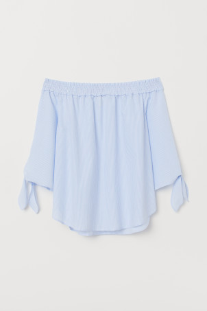 Off-Shoulder-Bluse