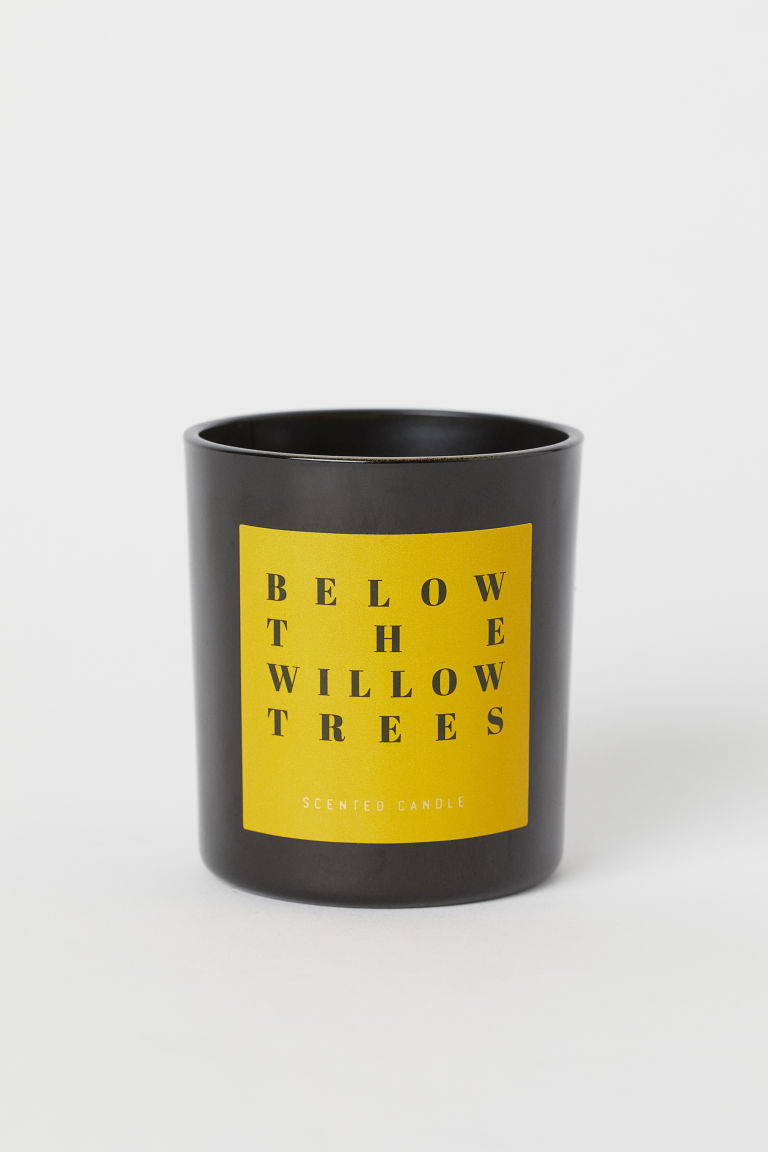 Candela profumata in vaso - Giallo/Below The Willow Trees - HOME | H&M IT