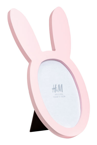 Wooden Photo Frame - Light pink - Home All | H&M CA