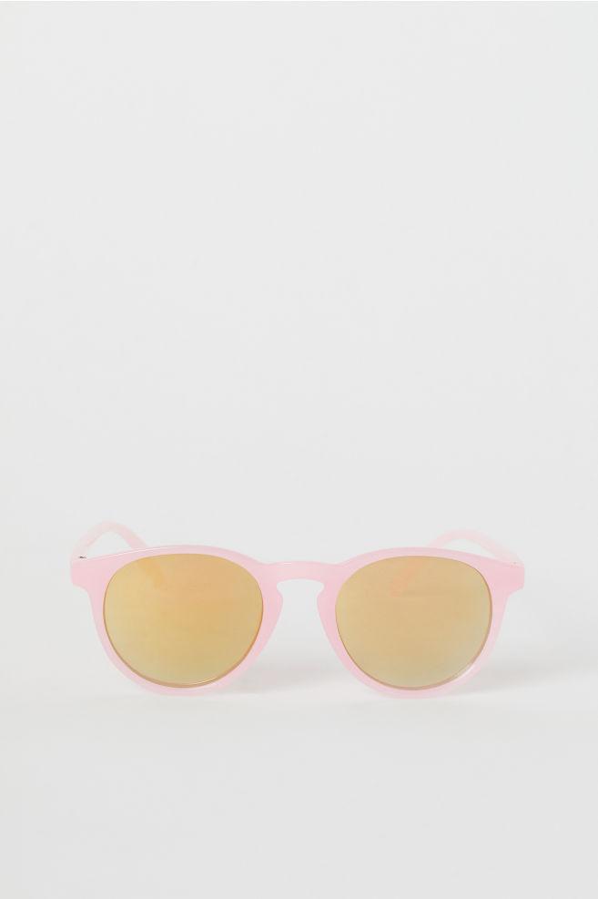 de8736bb Solbriller - Lys rosa/Gul - BARN | H&M ...