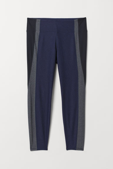 H&M+ Leggings sportivi - Blu scuro/grigio - DONNA | H&M IT