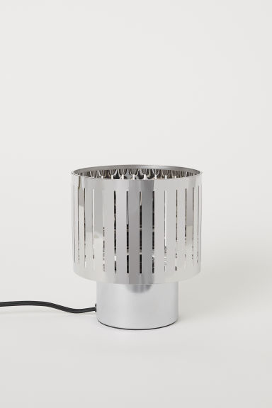 Lampe de table en métal - Argenté - Home All | H&M FR