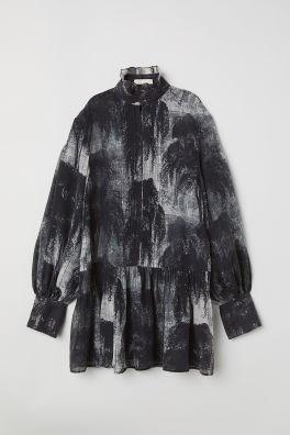 ab7e8bb03dd9d Krótka sukienka z lyocellem