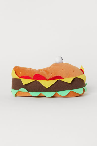 Slippers - Light brown/Hamburger - Kids | H&M CN