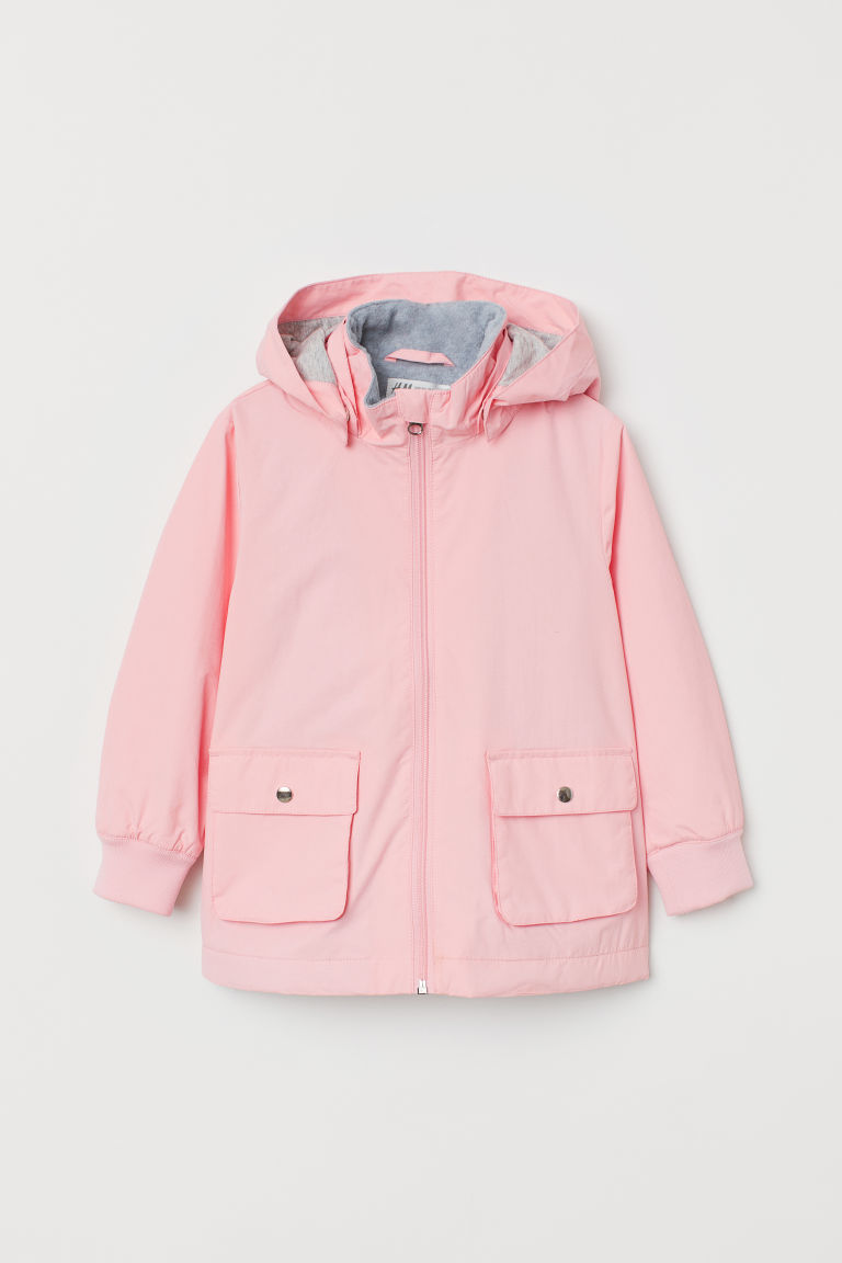 Water-repellent lined jacket - Light pink -  | H&M CN